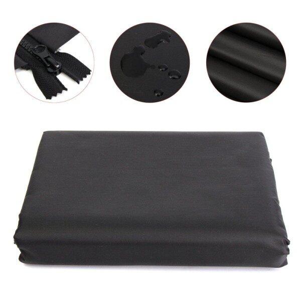 8ft Black Firewood Log Rack Polyester Covers Home Garden Patio UV Rain Protector