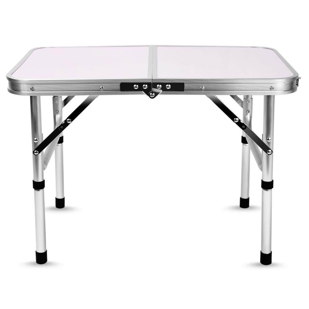 Portable Multifunction Aluminum Folding Camping Table with Adjustable Height,    little space occupation, light weight, sturdy and durable to use