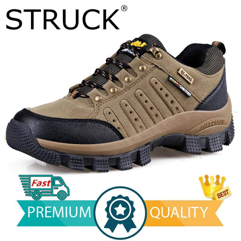 1c8671ae896 STRUCK Hot Selling Waterproof Hiking Shoes Big Size Mountain Climbing Shoes  Outdoor Hiking Boots Trekking Sport