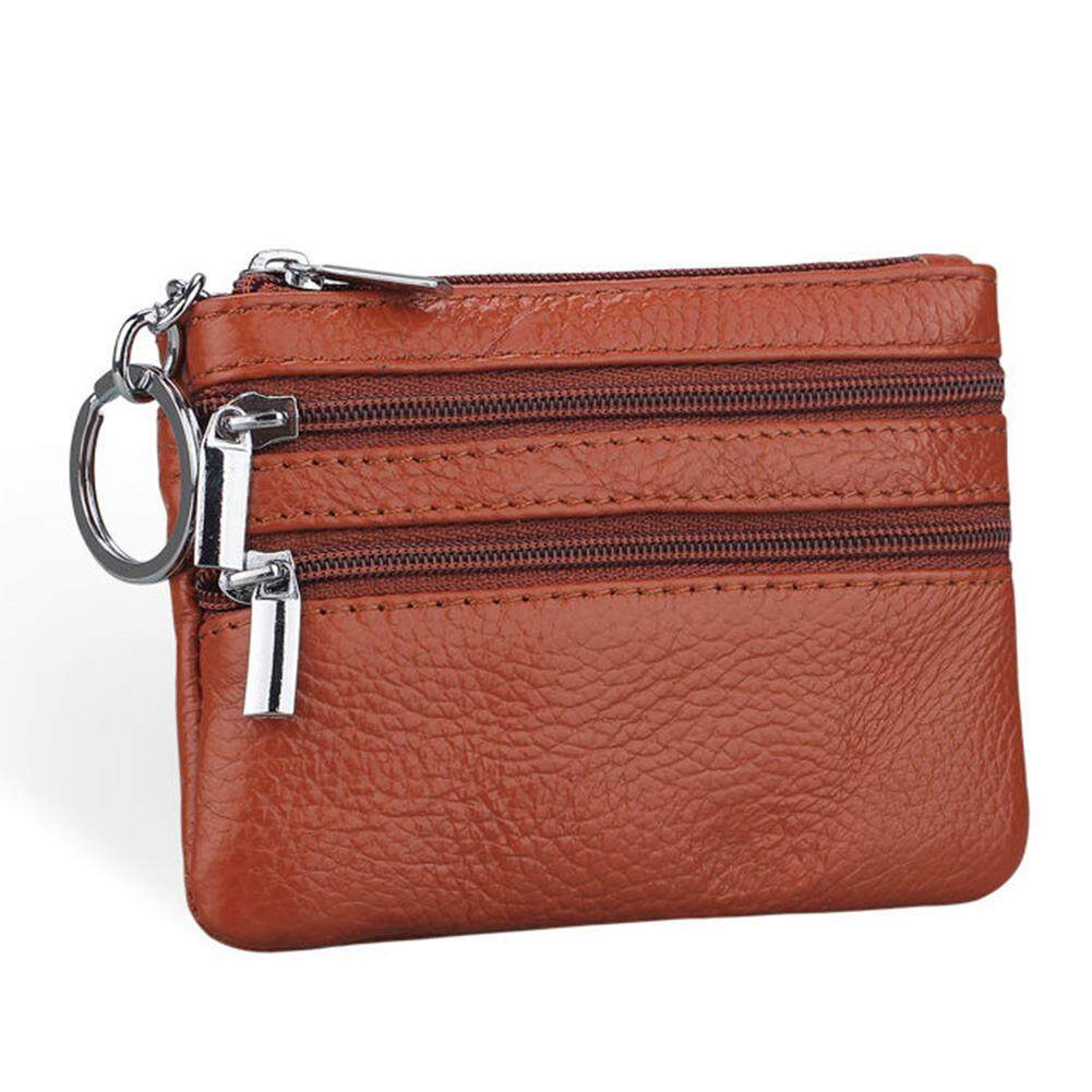 Unisex ขนาดเล็กเปลี่ยนกระเป๋าผู้ชาย Pu หนัง Key กระเป๋าใส่เหรียญบัตรกระเป๋าสตางค์คลัทช์กระเป๋าซิป By Tookie25.