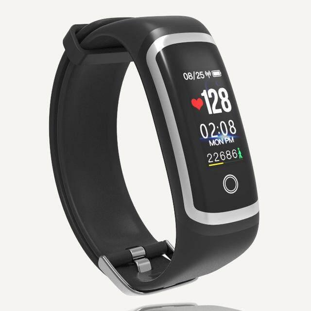 Watch Wanita Sanda M4 Olahraga Jam Pintar Bluetooth 4.0 Pelacak Tidur Pengingat Pesan Persegi Digital Jam Tangan Wanita