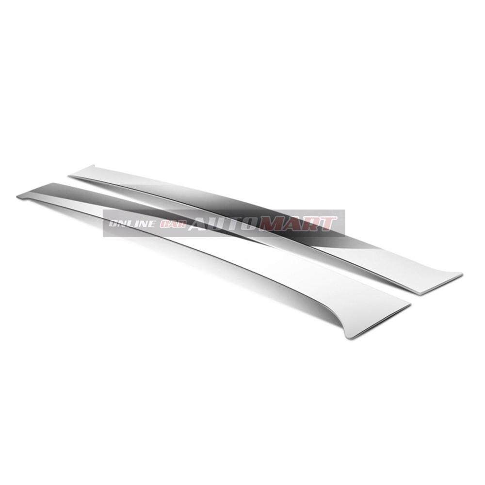 Toyota Estima Yr 2003- Car Chrome Door Window Pillar Trim Panel Chrome Stainless Steel (1 Set)