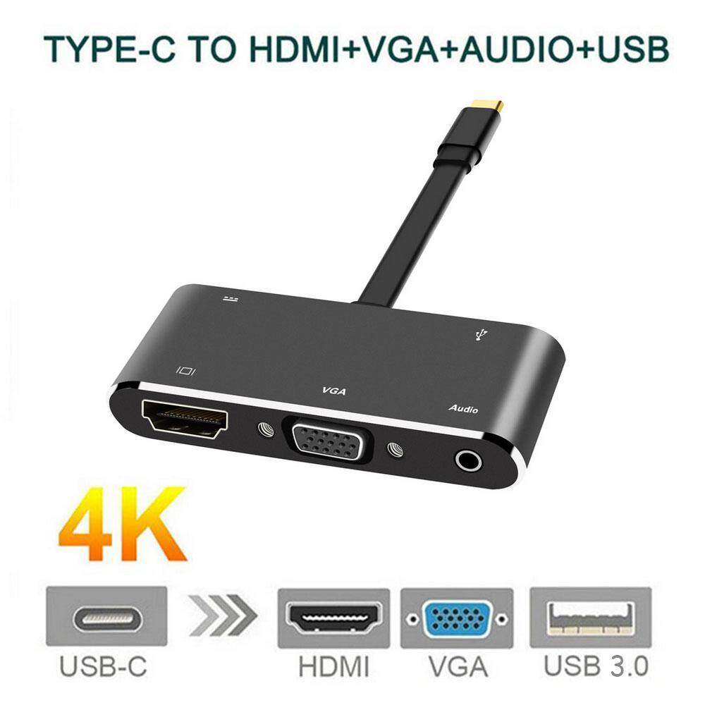Laptop Docking Station HDMI, Usb Type C Fast Speed Multi-Connection Docking Station for Company Meeting, Office, Home Entertainment