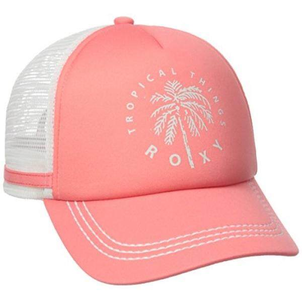 [From.USA]Roxy Juniors Dig This Trucker Hat, Lady Pink, One Size B01H6P6QWW - intl