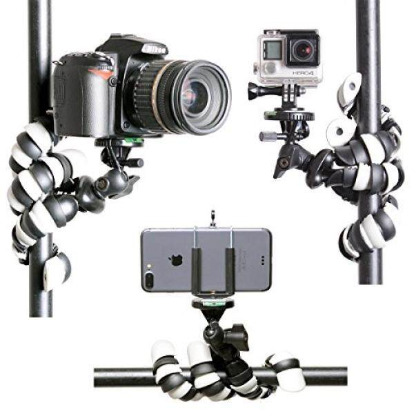 Fleksibel Tripod 3in1 Kamera Aksi/DSLR Kamera Saku Digital/Swafoto Telepon Cerdas Tripod Mini Gorillapod Pocket Perjalanan Pegangan Berdiri Tripod untuk Canon/Nikon/ goPro/Kamera Olahraga/iPhone/Android Ponsel-Intl