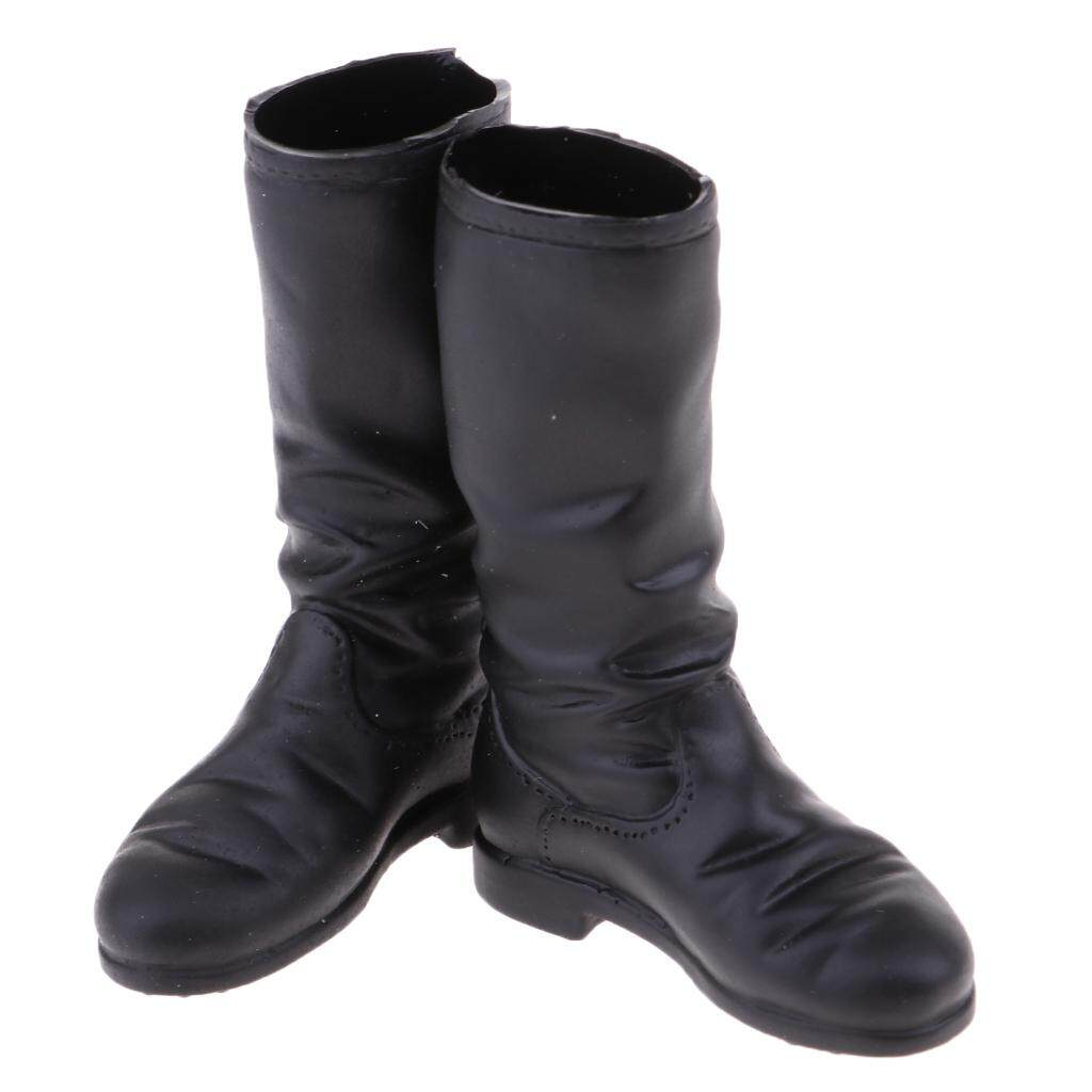 BolehDeals 1/6 Scale Women's Mid-calf Knee Boots Shoes for 12''