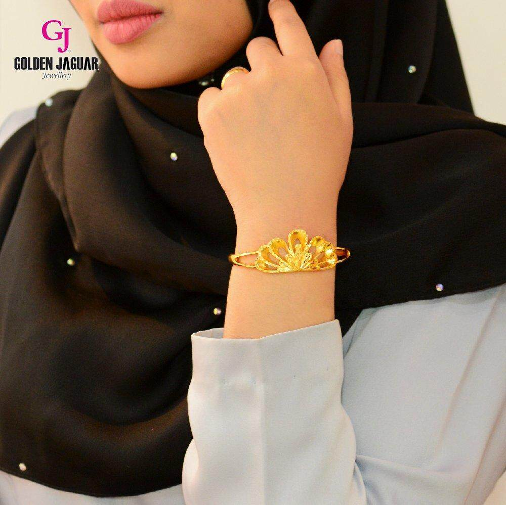 Emas Korea Golden Jaguar Bangle (GJJ-59679)