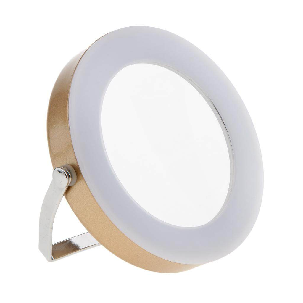 Magideal Led Illuminated Mirror Cosmetic Makeup Shaving Magnifying 3X Mirror Gold Intl Price Comparison