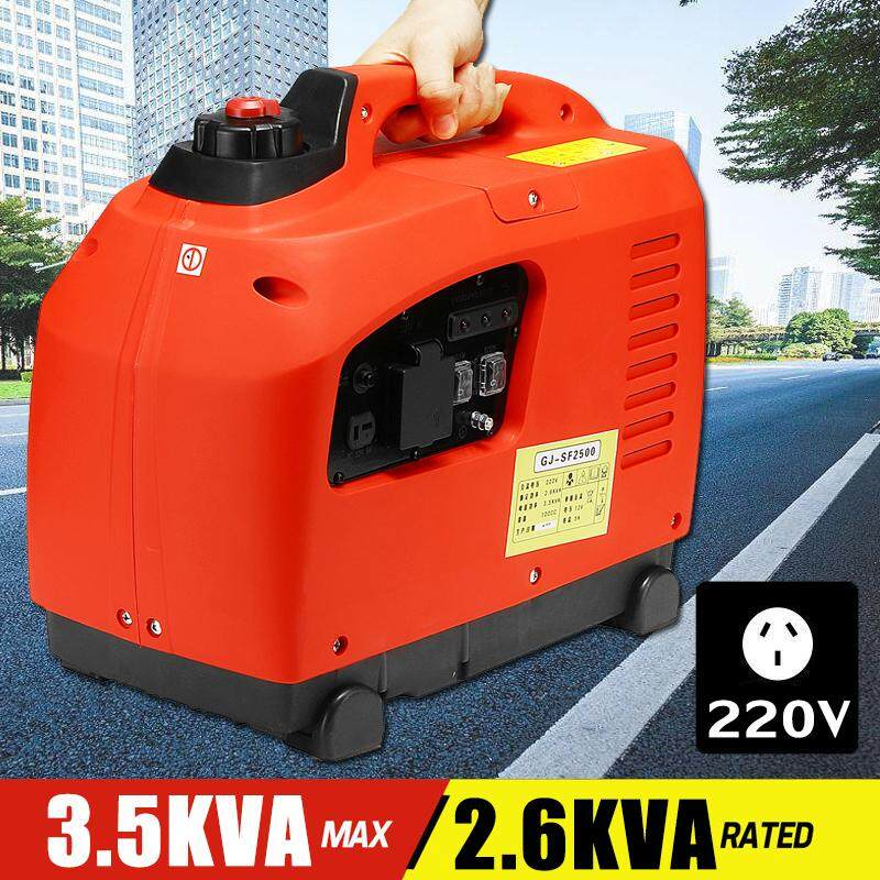 3500w 220v Portable Inverter Generator Household Generator Low Noise Outdoor By Freebang.