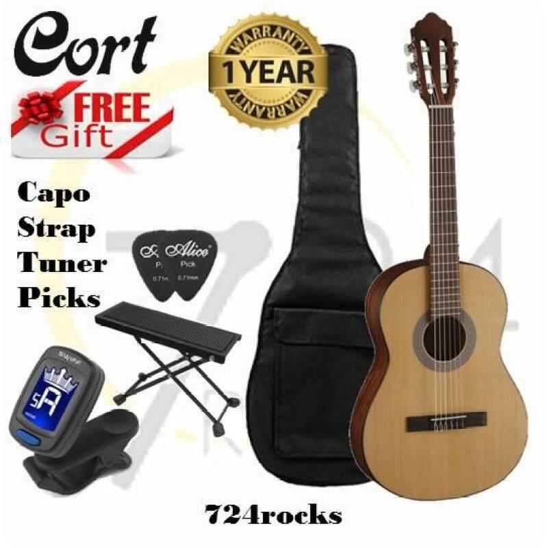 Cort Classic Series AC70 OP Open Pore 3/4 Size Mini Body Classical Guitar Malaysia