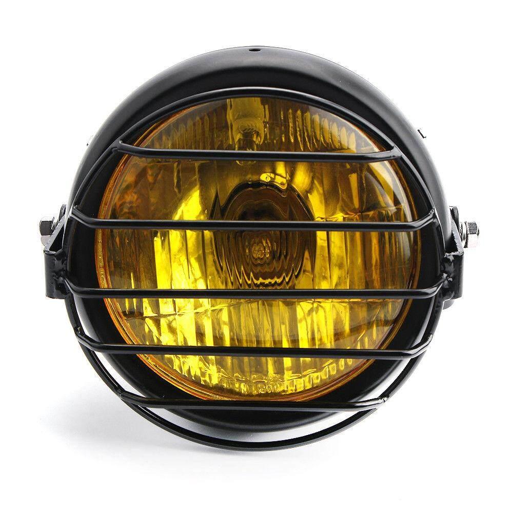 Motorcycle Head Lights For Sale Light Assemblies Online Cbr Headlight T Shirt Bk 65 Retro Led Side Mount Grill Cover Cafe Racer