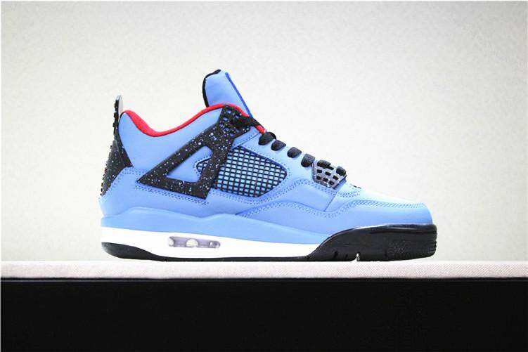 a7d9c7e29d1 ... buy nike original michael jordan 4 mens basketaball shoe mj blue black  discounted air jordan aj