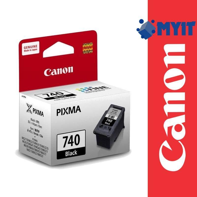 Canon Original PG-740 Black Ink Cartridge for MG2170 MG2270 MG3170 MG3570 MG4170 MG4270 MX377 MX397 MX437 MX457 MX477 MX517 MX527 MX537 PG740