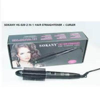 SOKANY Professional 2in1 Hair Curler & Straightener