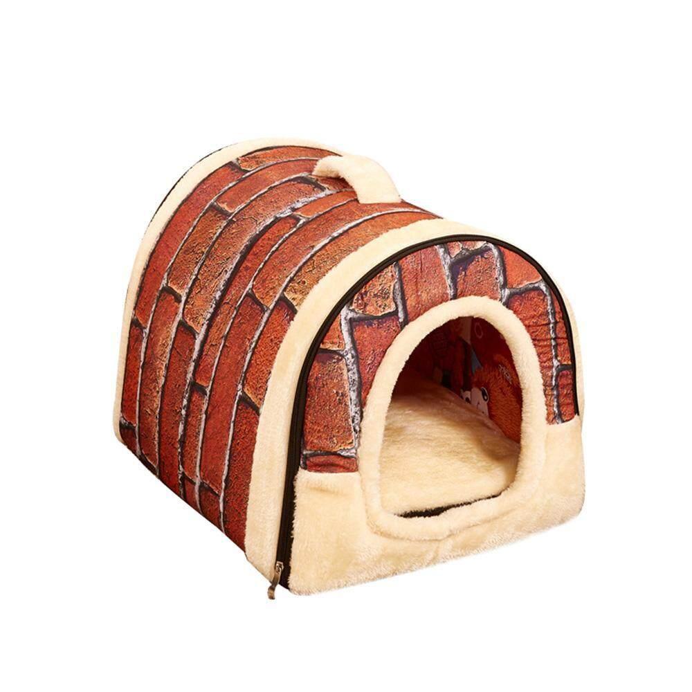 Yueshunbuha Anjing Rumah Portabel Bata Hangat atau Nyaman untuk Hewan Peliharaan Kecil-Internasional