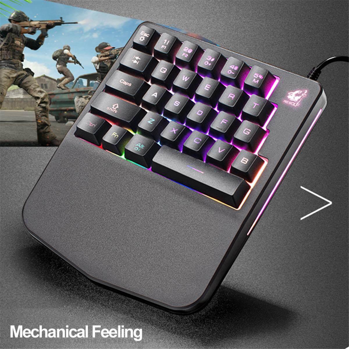 Fitur Free Wolf K9 Usb Wired 28 Keys Mixed Light Pc Single Hand Armaggeddon Gaming Keyboard Mka 3c Psychfalcon Blue Switch Mec