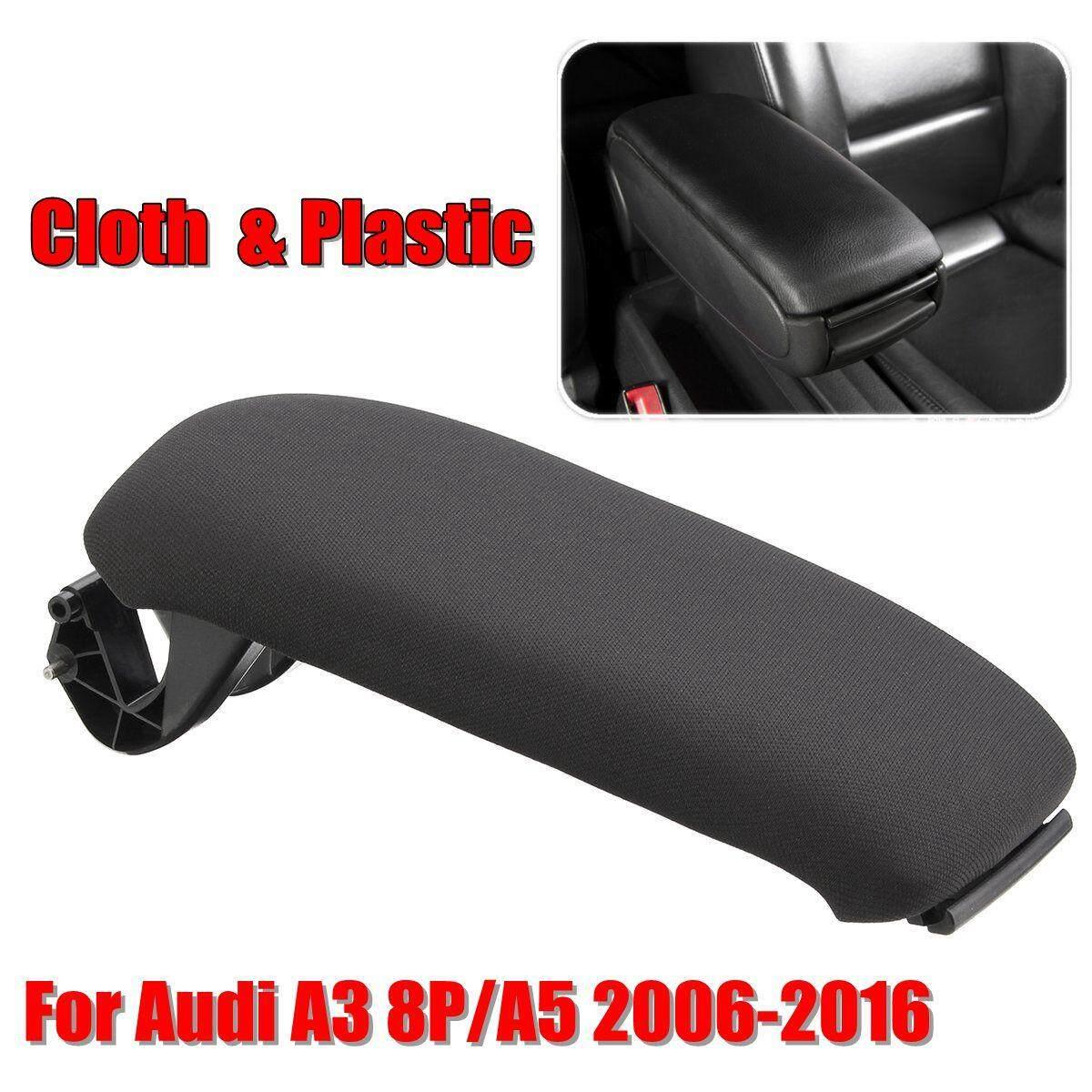 Kain Plastik Pusat Konsol Penutup Sandaran Tangan Penutup untuk Audi A3 8 P/A5 2006