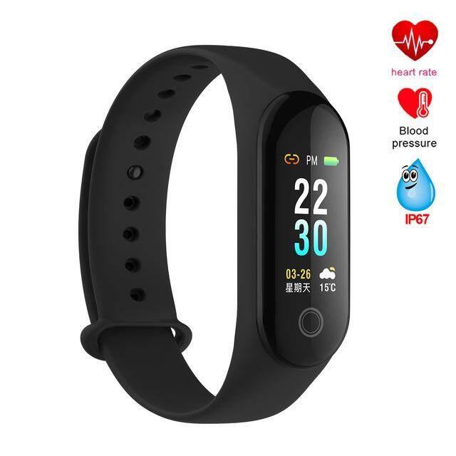 Smart Bracelet Fitness Tracker Wristband Color Screen Smart Band Smart Watch Band PK Mi Band 3