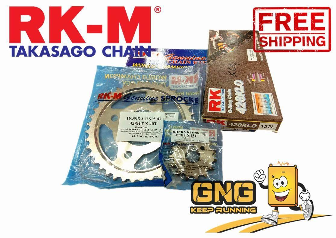 Review Rk Takasago Chain O Ring Chain X 122l Gold Dan Harga Terkini