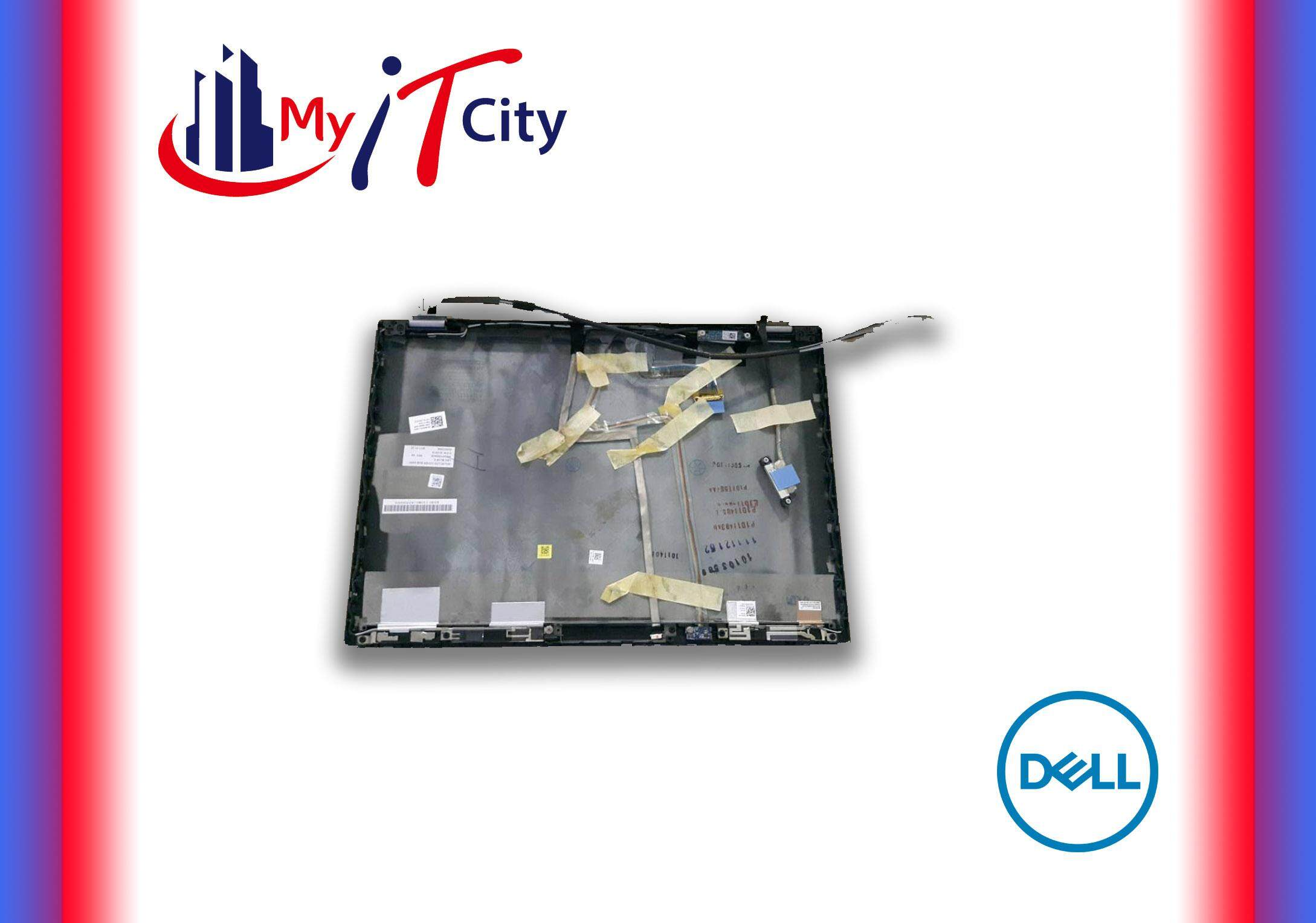 (New) Dell Latitude E6410 Blue LCD Back Cover Lid & Hinges - 0959Y5 Malaysia