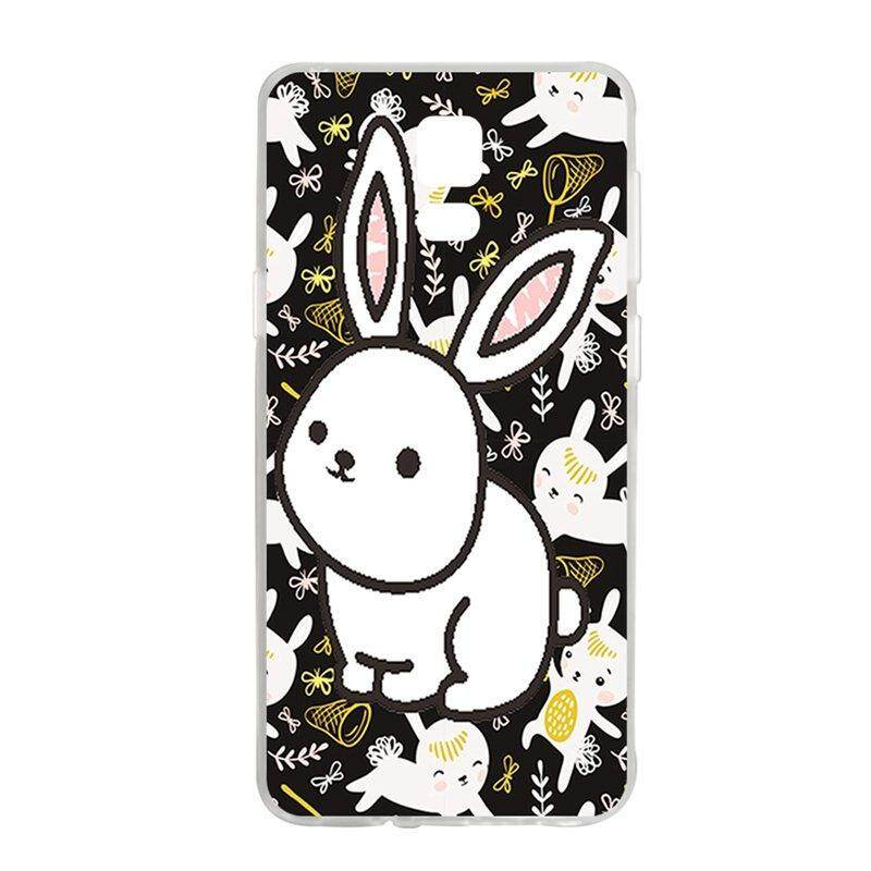 White Rabbit TPU Soft Silicon Phone Case Cover For Samsung Galaxy Note 4
