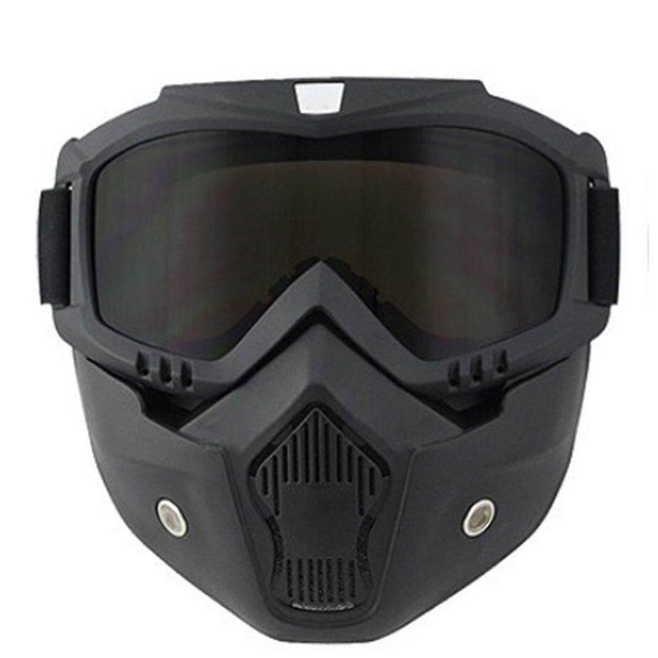 Tidak, L Windproof Skate Matahari Kacamata Goggle Sepeda Motor Off-Road Topeng Helm Kacamata By No1goodsstore.