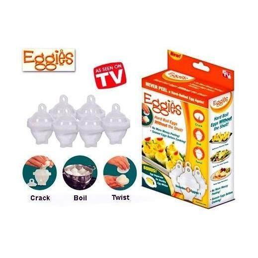 EGGIES - (Perfect Hard Boil Eggs)