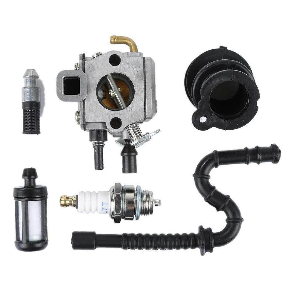 ZLOYI Professional Carburetor Kit Fit for Stihl MS340 MS360 034 036 ChainSaw Zama - intl
