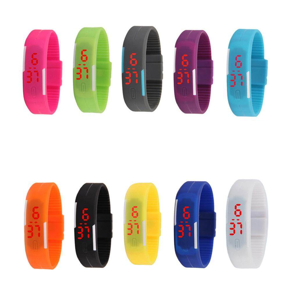 Giá bán YC Fashion Children LED Electronic Bracelet Touch Screen Wrist Watch Perfect Gift