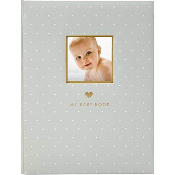 Little Blossoms โดย Pearhead หวาน Welcome Baby สมุดบันทึกความทรงจำ, สีเทา - Intl