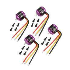 OCDAY 4pcs 1106 7500KV 3-4S Brushless Motor untuk RC Mini FPV balap Drone