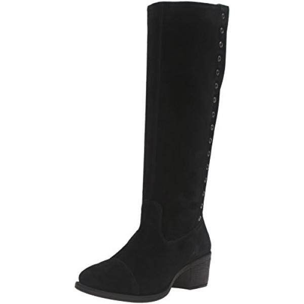 Hush Puppies Womens Ideal Nellie Boot, Black Suede, 9 M US - intl