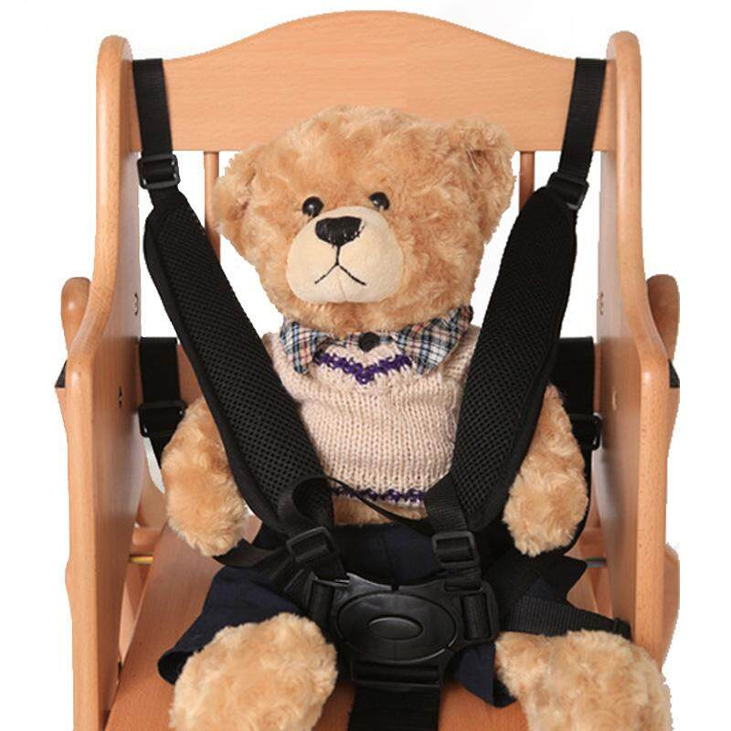 Baby Stroller Seat Belt 5 Point Harness Safety Strap Chair Pram Buggy Children Kid 360 Rotating Hook By Rytain.