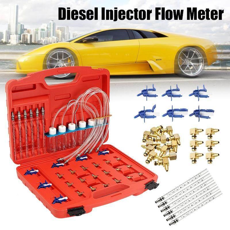 Pemakaian Meteran Arus Injector Tester Set Common Rail Diesel 6 Silinder Alat Bengkel By Audew.