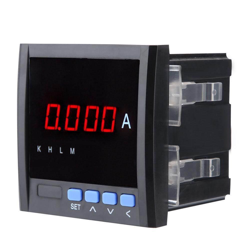 【Thời gian giới hạn Promotions】Digital Hiển Thị Một Pha Ampe kế AC 1A/5A với RS485 Giao Tiếp