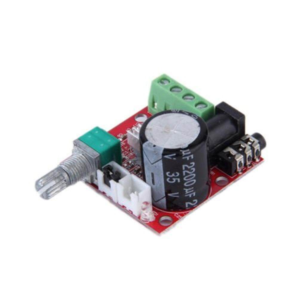 YBC PAM8610 Mini 10 W + 10 W DC8V-12V Stereo Audio Penguat Daya Papan