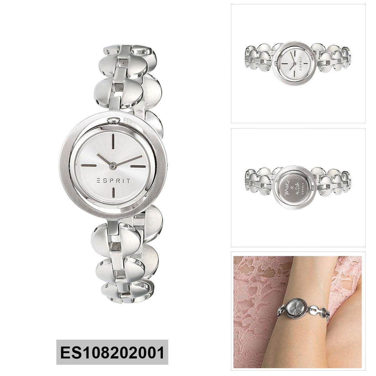 Esprit Ilary Silver Stainless-Steel Case Stainless-Steel Bracelet Ladies  ES108202001 7b91e83046f
