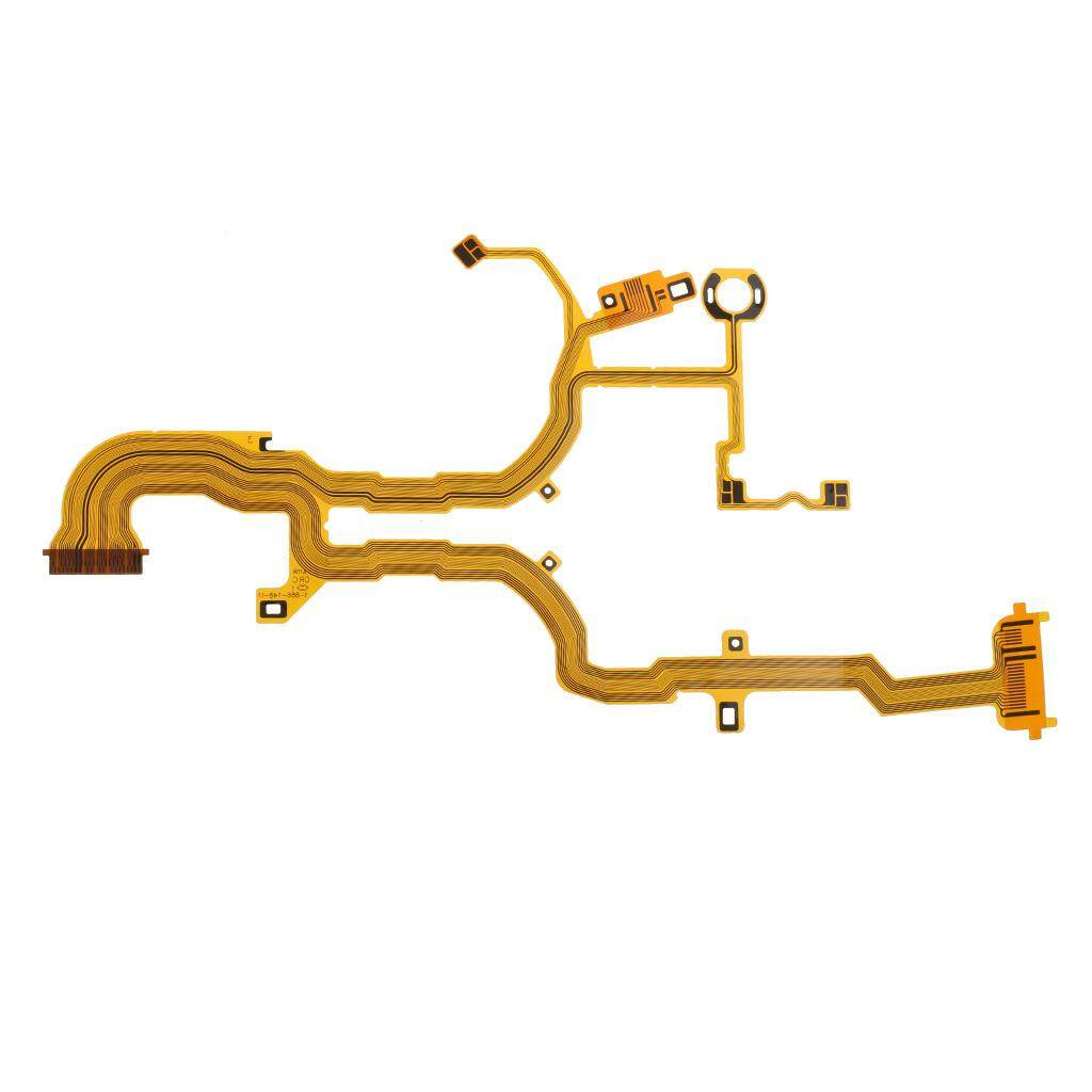 Miracle Shining Lens Back Main Flex Cable Repair for Sony RX100 Digital Camera (No Socket)