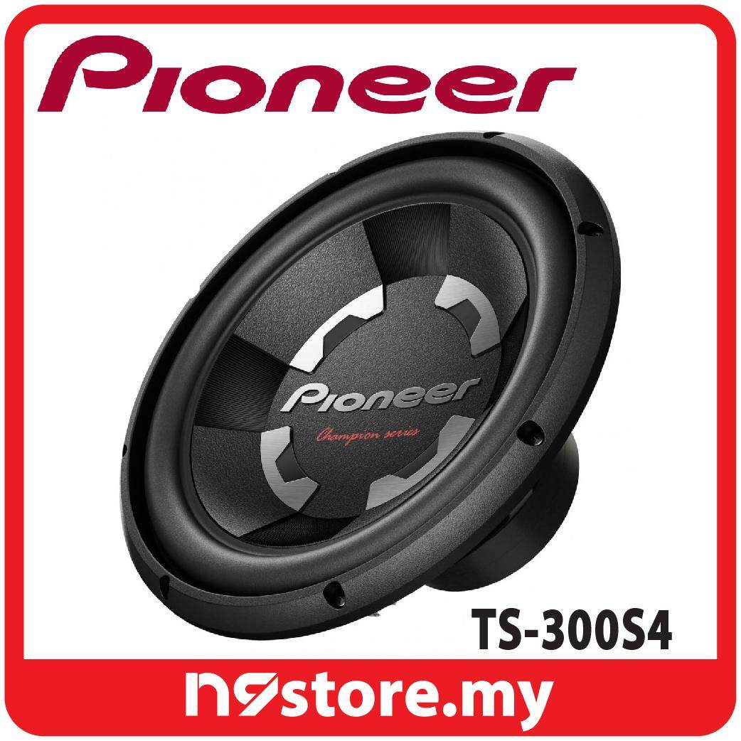 """Pioneer TS-300S4 12"""" (30cm) D Series SVC Subwoofer 400W 4 ohm"""