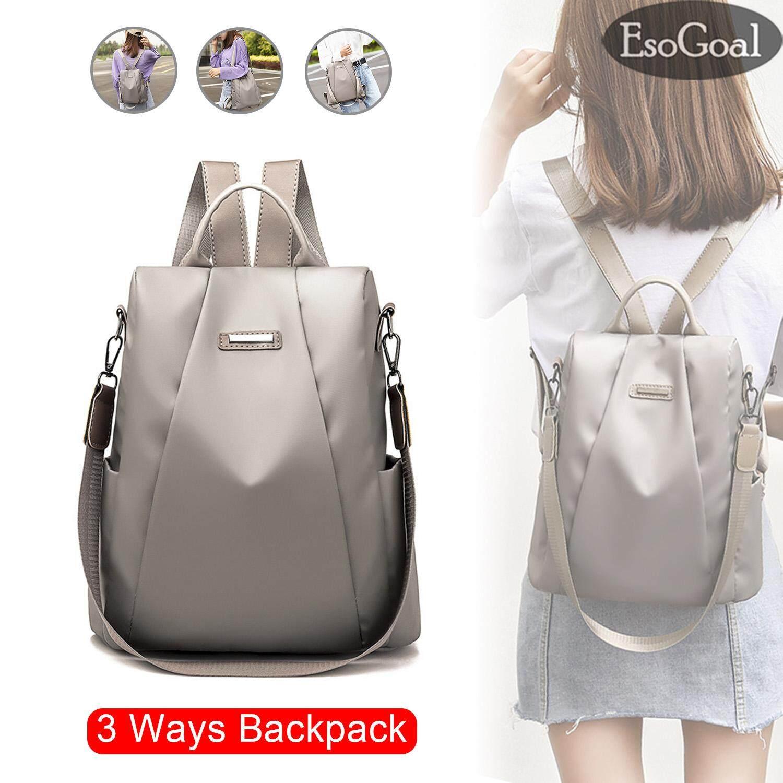Tas Ransel Punggung Wanita Kulit 2 Fungsi Sling Bag Backpack