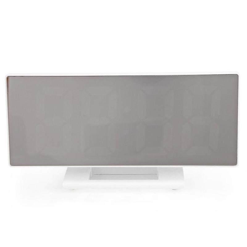 Kỹ Thuật Số USB Gương Để Bàn Trang Trí Lớn Màn Hình LED Báo Lại Đồng Hồ Báo Thức Để Bàn
