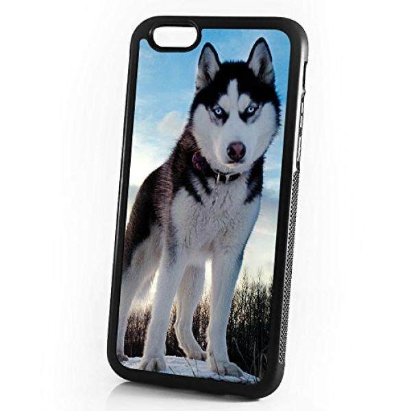 Smartphone Cases Cases Pinky Beauty Australia ( For iPhone 8 Plus / iPhone 7 Plus ) Durable Protective Soft Back Case Phone Cover - A11305 Husky Dog - intl