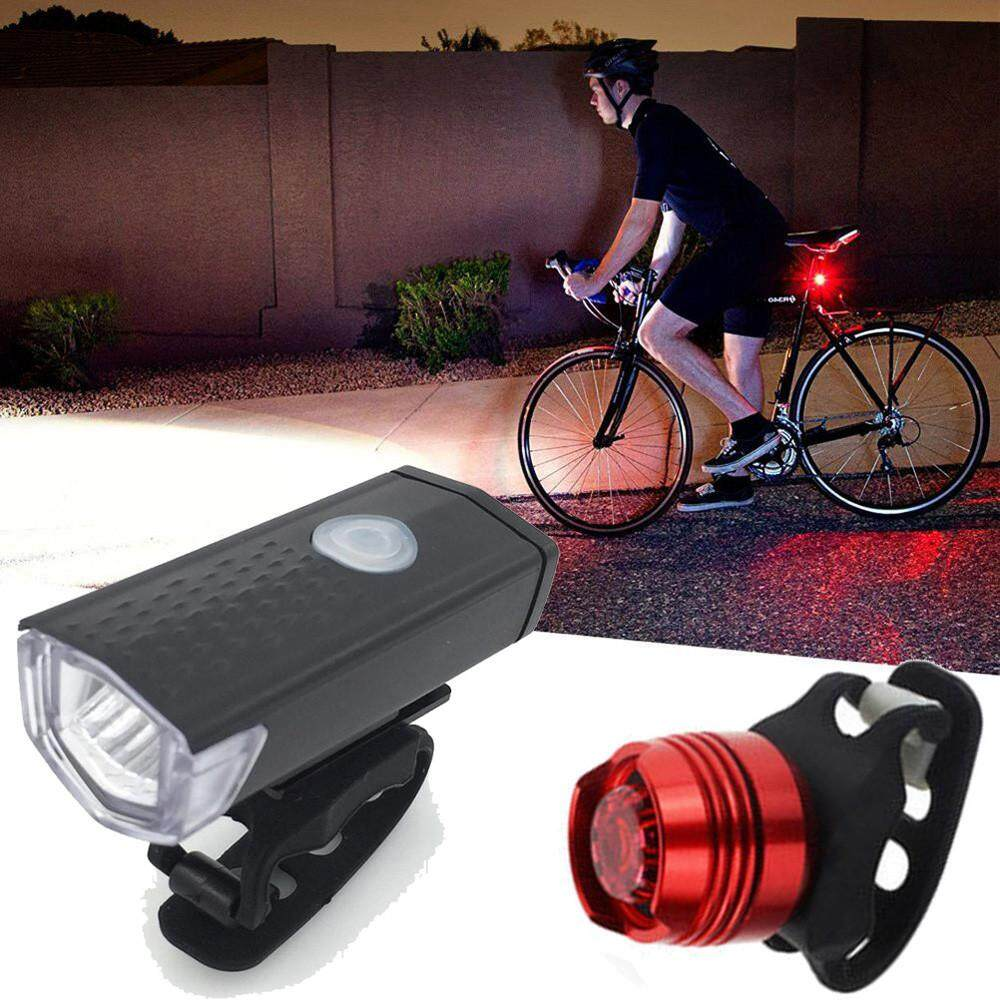 Bike Lights For Sale Cycling Online Brands Prices Pro Cycle Tach Wiring Motorcycle Super Bright Usb Led Bicycle Light Rechargeable Headlight Taillight Set