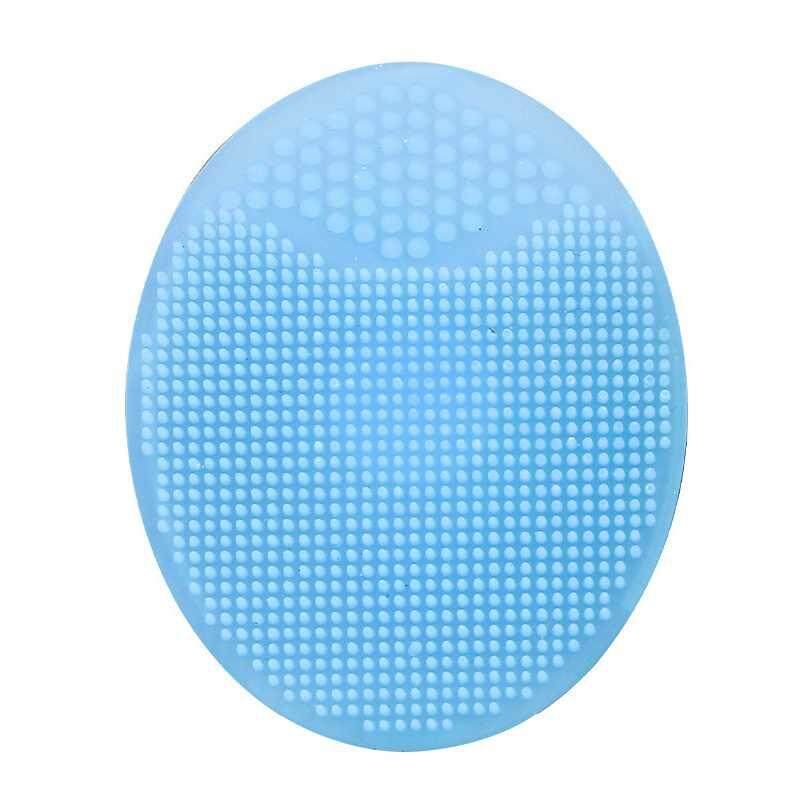 Sway Cleaning Pad Wash Face Facial Exfoliating Brush SPA Skin Scrub Cleanser Tool Silicone Baby - intl tốt nhất