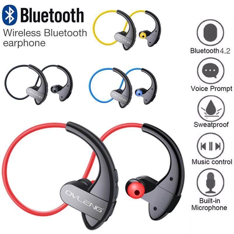 E-Hidup Ovleng S13 Baru Bluetooth V4.2 + EDR Earphone .