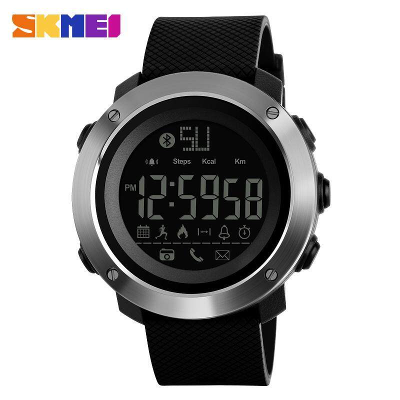 a43f859d707 MYR 47. SKMEI Brand Watch Men Women Fashion Watches Calorie Call Reminder Bluetooth  Remote Camera Wristwatches Life Waterproof ...