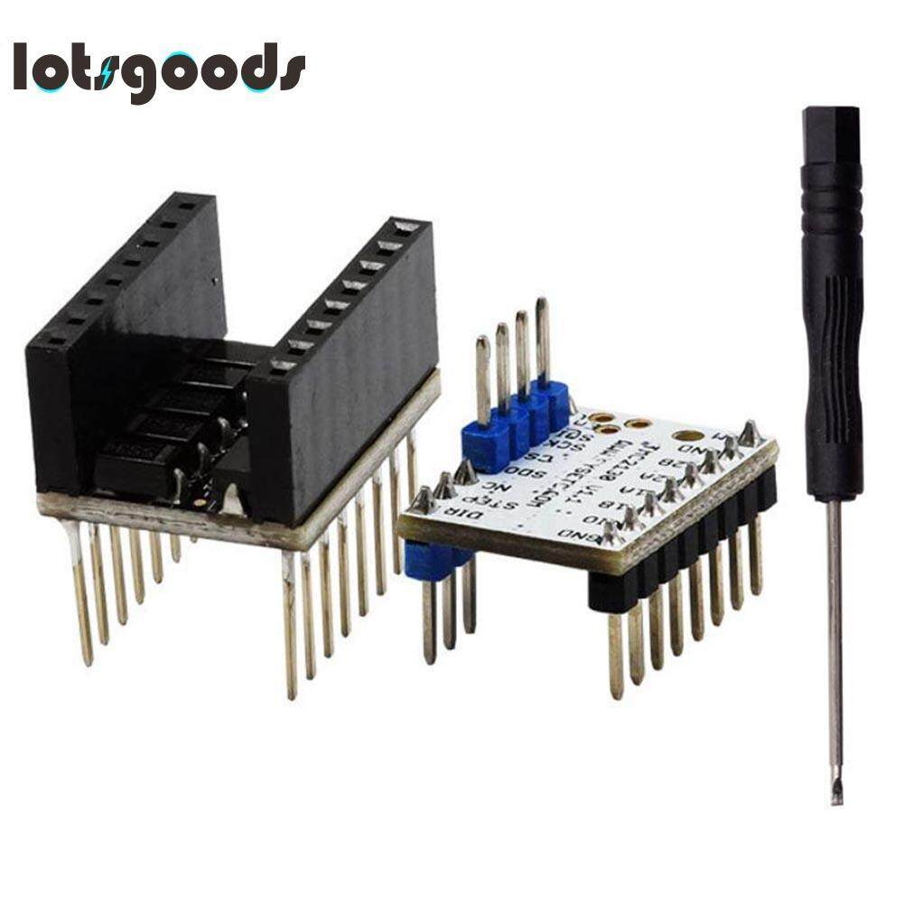 Office Electronics Mute Professional 3D Printer Stepper Motor Driver+Silent Stepper Motor Heat sink TMC2130 V1.1