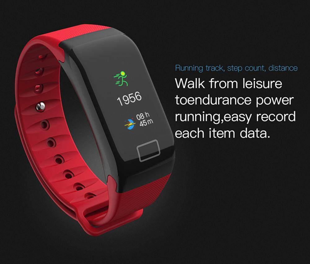 WEARFIT F1 PLUS Color Display Fitness Tracker Smart Bracelet