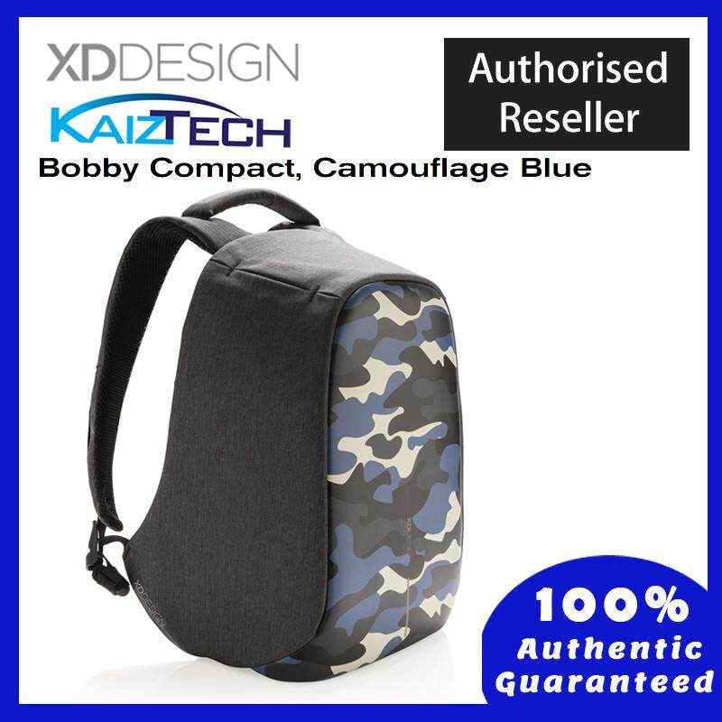 b866851bfb3f Original XD DESIGN Bobby Compact Print - Anti-theft Backpack