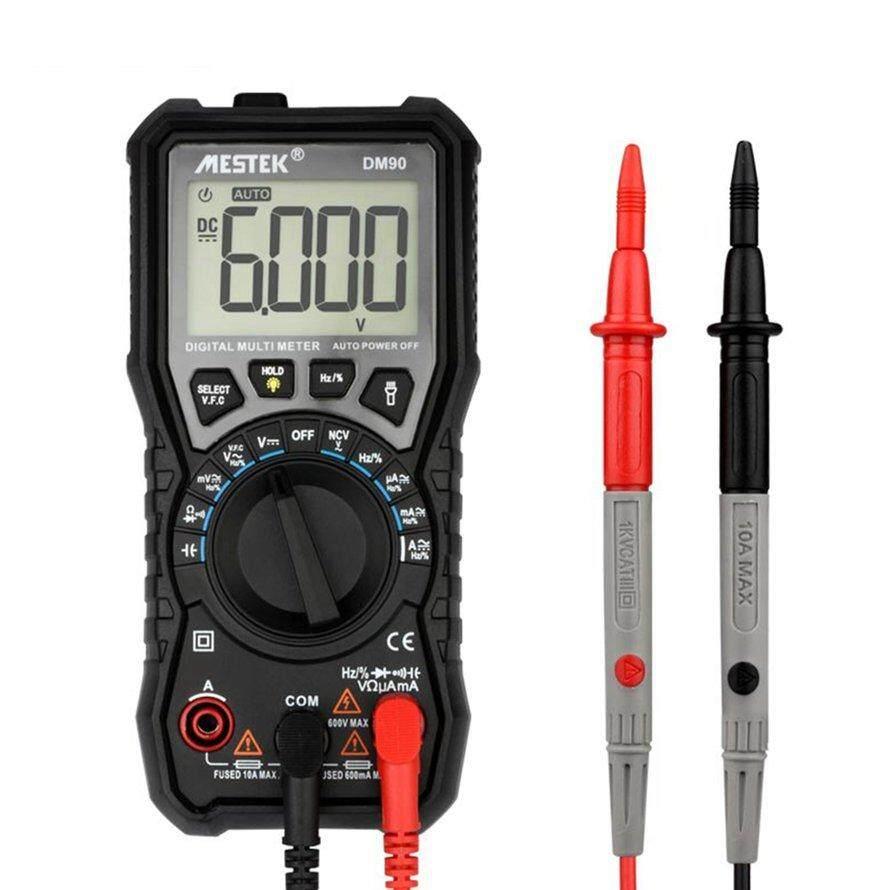 Fitur Osman Zt X Digital Multimeter Auto Range True Rms Ac Dc Volt Lcd Voltmeter Ammeter Ohm Circuit Checker Dm90 Mini Amp Diode Ncv Tester